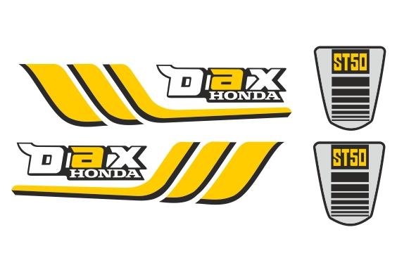 Honda Dax St 10 Aufkleber